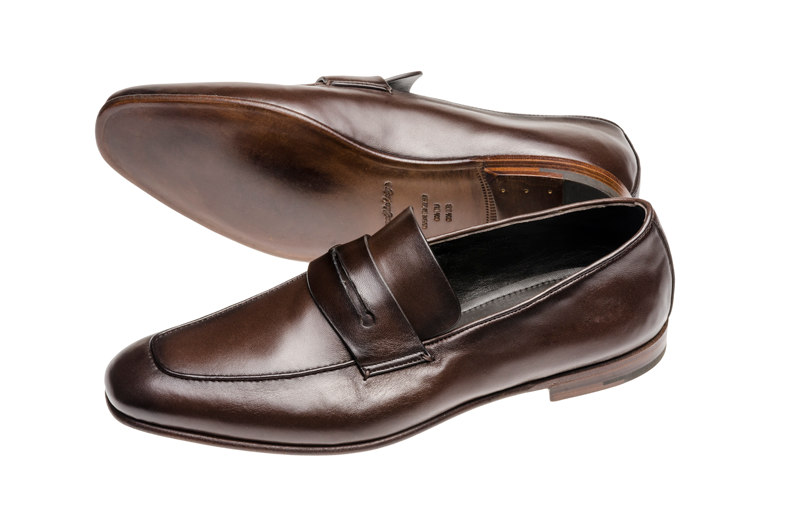 Ermenegildo Zegna shoes product photography shot