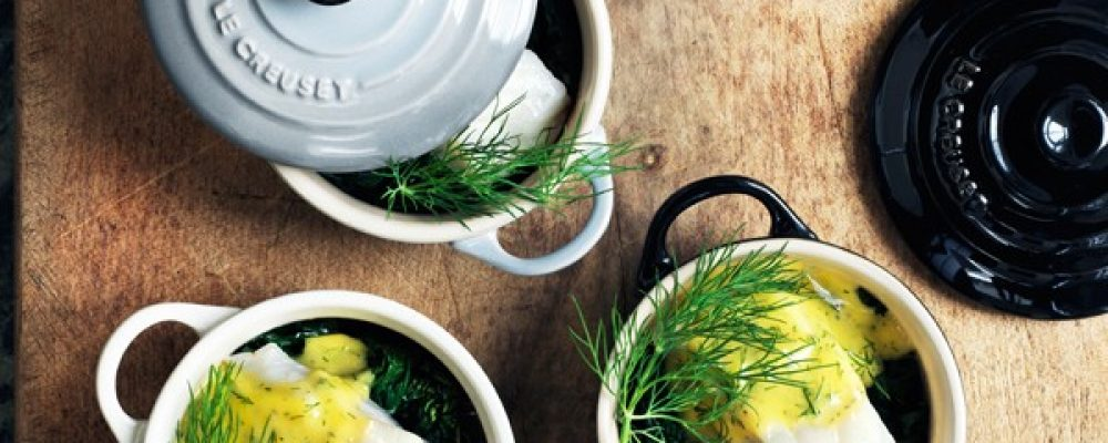AT HOME with Le Creuset