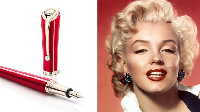FOREVER ICONIC: MONTBLANC PAYS TRIBUTE TO THE CHARISMA AND BEAUTY OF MARYLIN MONROE