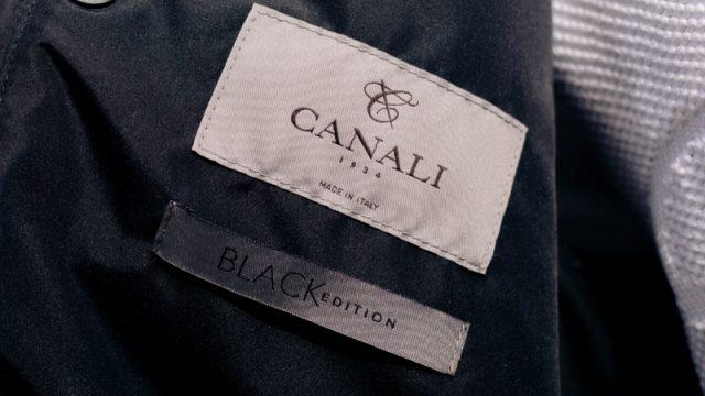 Canali Black Edition at Michell Ogilvie