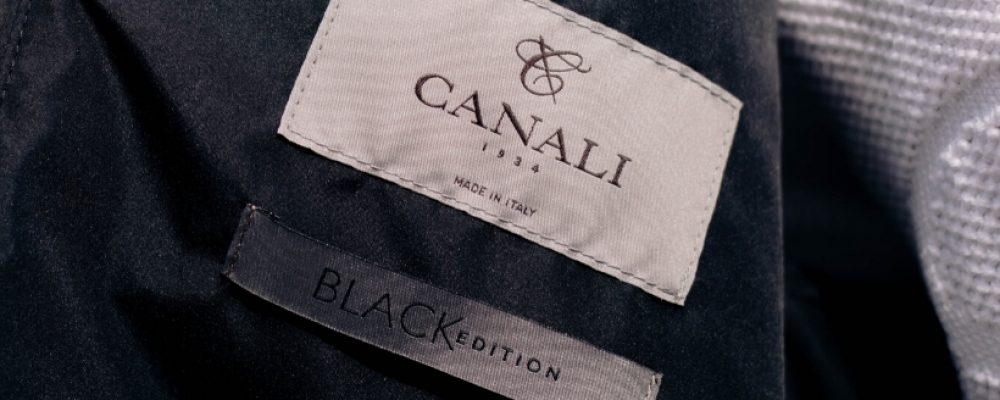 Canali Black Edition at Michell Ogilvie